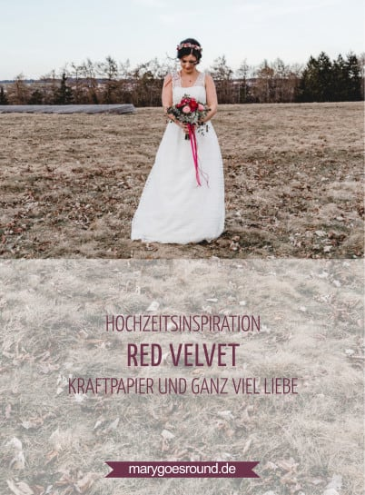 Hochzeitsinspiration Red Velvet, Titelbild | marygoesround.de