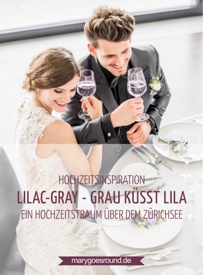 Hochzeitsinspiration: Grau küsst Lila (Zürichsee) | marygoesround.de