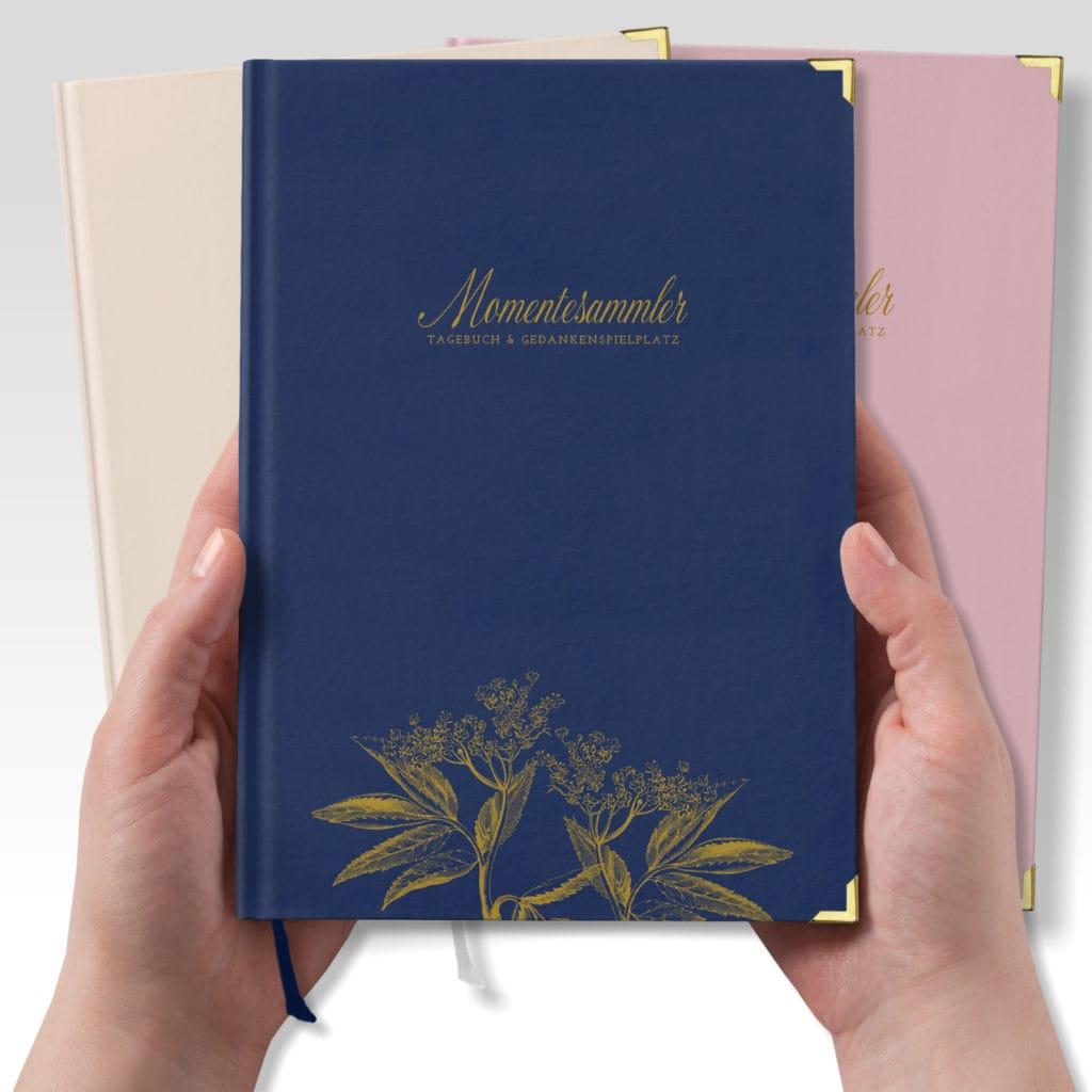 Tagebuch MOMENTESAMMLER in verschiedenen Farben | marygoesround®