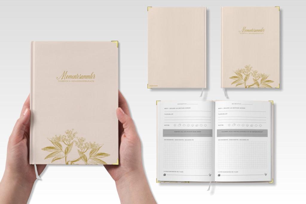 Tagebuch MOMENTESAMMLER, creme | marygoesround®