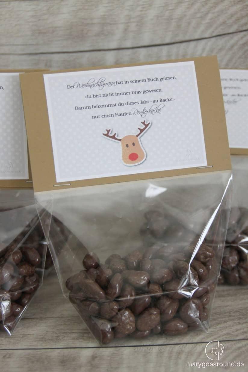 Rentierkacke - witziges Weihnachtsgeschenk | marygoesround.de