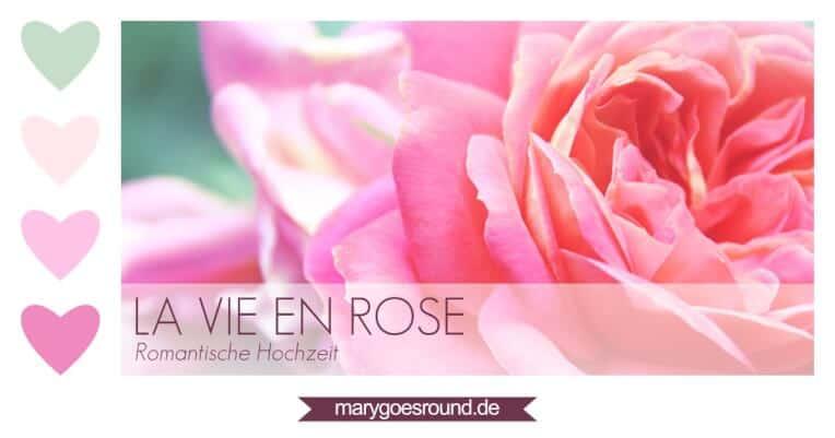 Hochzeitstrends 2015, Farbkonzept rosa/pastell | marygoesround.de