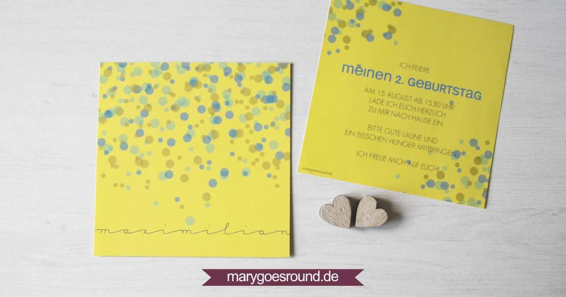 Kindergeburtstag | marygoesround.de