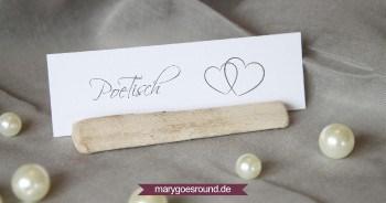 Kreative Tischnamen für die Hochzeit | marygoesround.de