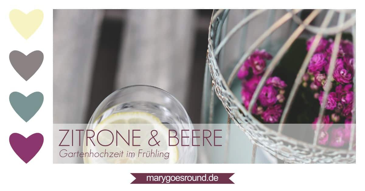 Farbpalette / Farbkonzept Hochzeit | marygoesround.de