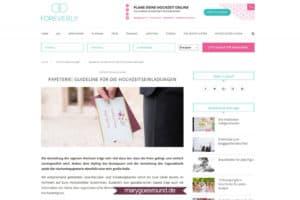 """foreverly: Gastbeitrag """"Papeterie-Guideline""""(20.09.2016)"""
