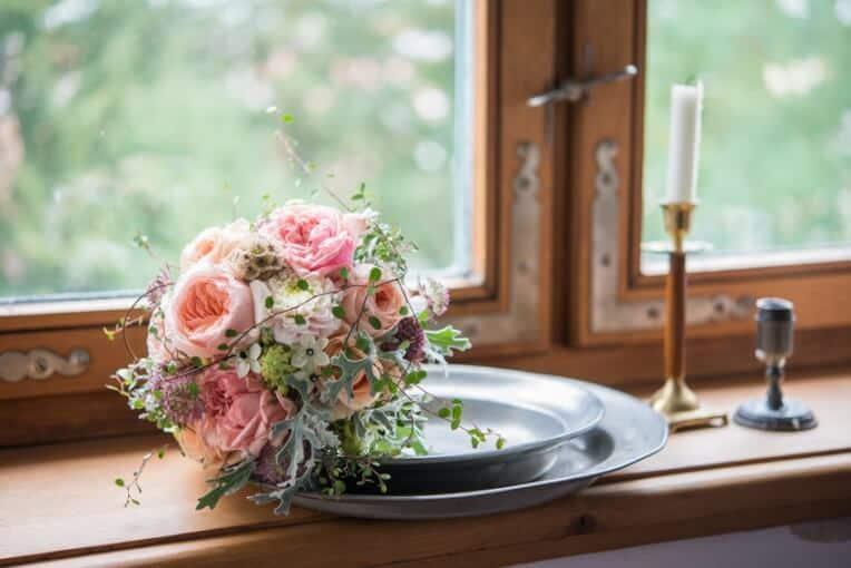 Hochzeitsinspiration: Märchenhochzeit im Schloss (Styled Shooting, Schoss Hofstetten), Brautstrauß | marygoesround.de