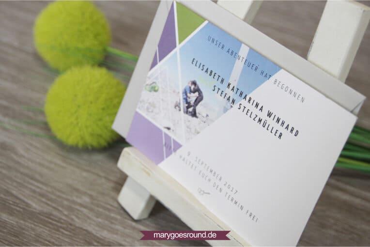 Hochzeitstrends 2017, Hochzeitspapeterie - Recyclingpapier | marygoesround.de