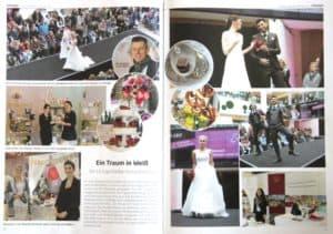 espresso Ingolstadt, Februar 2017, Seite 50 (Bericht zur Ingolstädter Hochzeitsmesse) | marygoesround.de