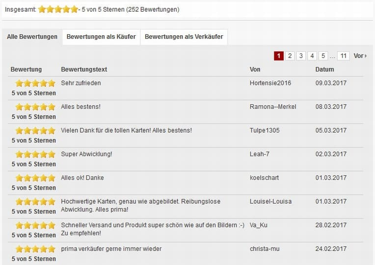 Bewertungen im DaWanda-Shop | marygoesround.de