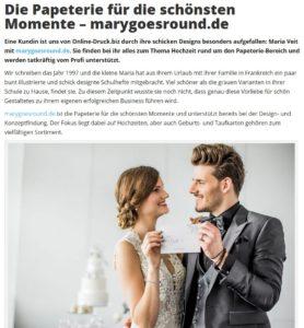 online-druck.biz, Vorstellung marygoesround.de, März 2017 (https://www.online-druck.biz/blog/marygoesround_papeterie/)