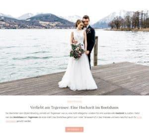 """Liebe zur Hochzeit, Hochzeitsblog, Beitrag Hochzeitsinspiration """"Frühlingserwachen"""", 07.06.2017 (https://www.liebe-zur-hochzeit.de/verliebt-am-tegernsee-eine-hochzeit-im-bootshaus/#more-15452)"""
