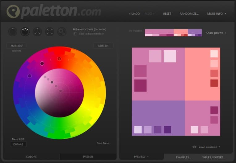 Tipp: Farbkonzepte erstellen mit paletton.com | marygoesround.de