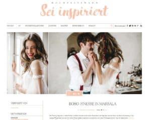 """Hochzeitswahn, Hochzeitsblog, Beitrag Hochzeitsinspiration """"Boho Finesse"""", 28.08.2017 (http://www.hochzeitswahn.de/inspirationsideen/boho-finesse-in-marsala/)"""