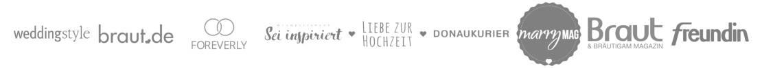 Presse-Veröffentlichungen Hochzeitspapeterie | marygoesround.de