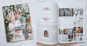IN LOVE: Hochzeitsinspiration ZARTE LIEBE, September 2017, S. 36-37 und Titel