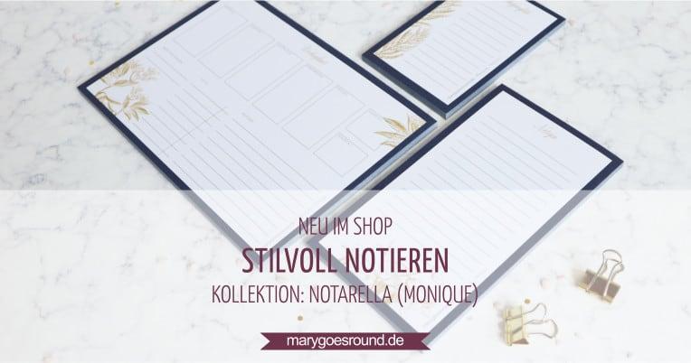 Notarella -Notizblöcke und Planer, jetzt im Onlineshop | marygoesround.de