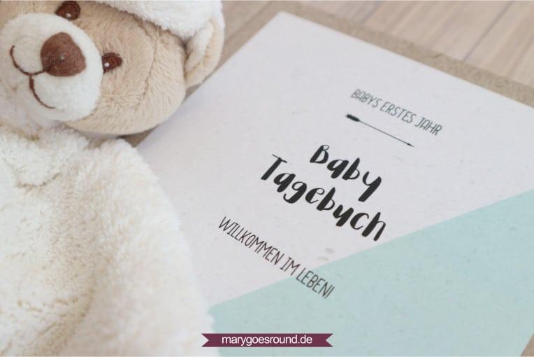 Babys erstes Jahr, Baby-Tagebuch für das erste Lebensjahr | marygoesround.de