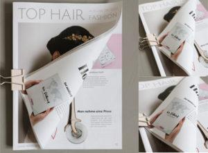 Hochzeitsreise-Tagebuch in Top Hair 09-2019, S 70 | marygoesround®