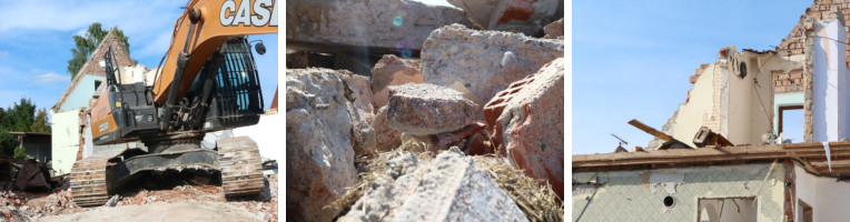 Unser Hausbau-Abenteuer: der Abriss des Altbaus | marygoesround®