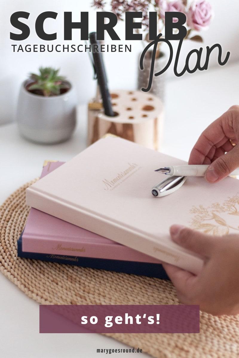 Raus aus dem Nebel - mach' deinen Schreibplan (Blogserie: Tagebuchschreiben zur Gewohnheit - Teil 3) | marygoesround®