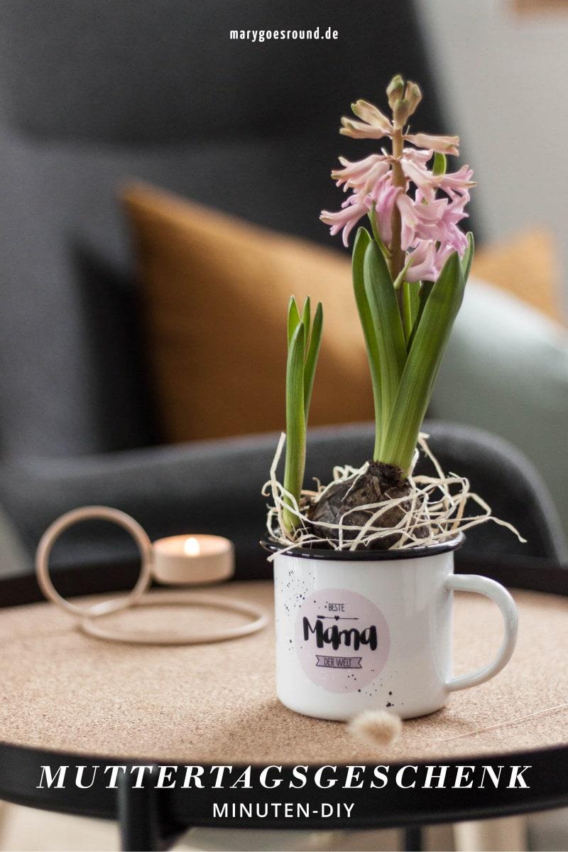 DIY-Anleitung: Nachhaltiges Blumengeschenk zum Muttertag