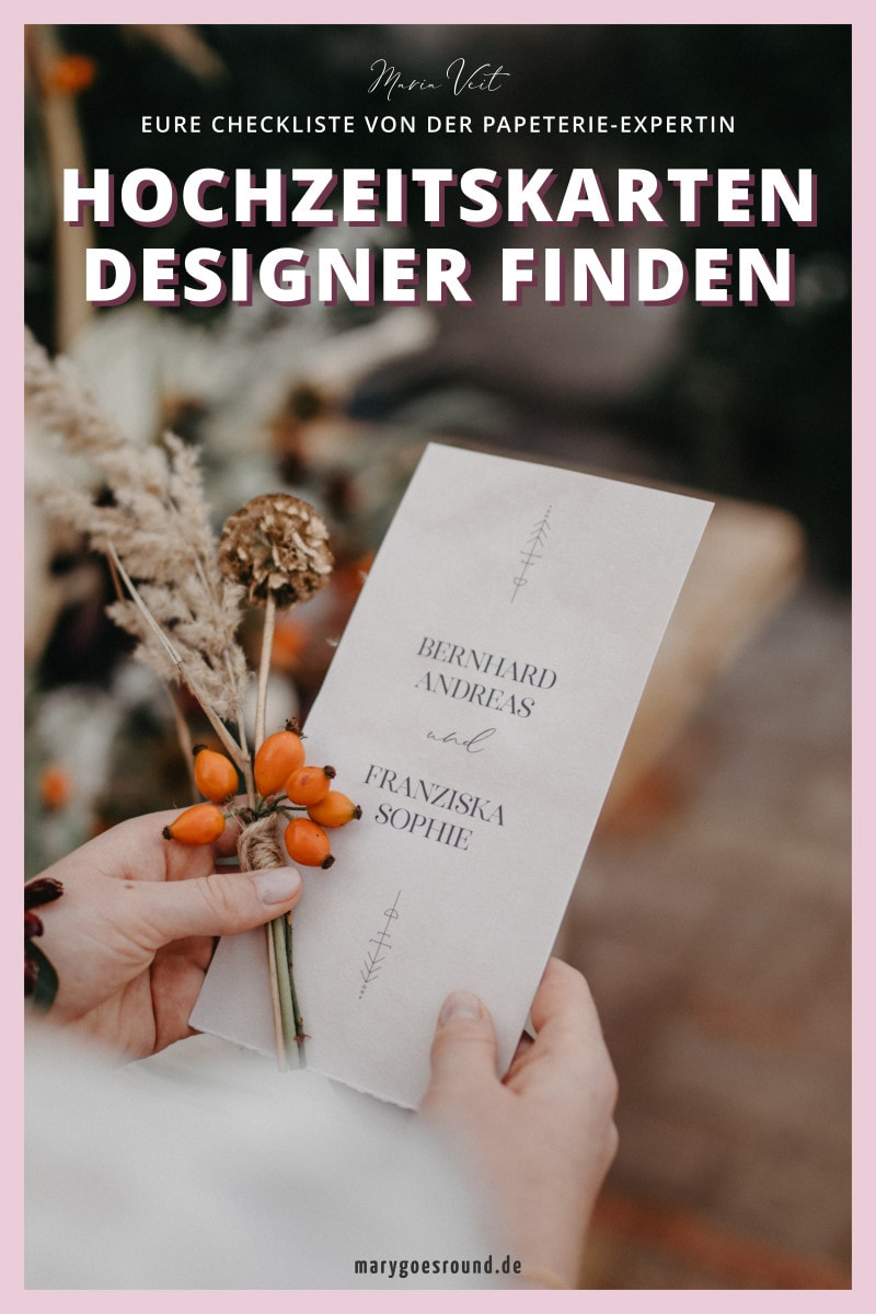 Download: Designer für Hochzeitspapeterie finden | marygoesround®