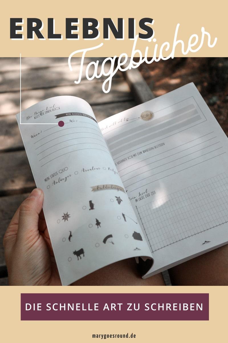 Erinnerungen schnell festhalten: Erlebnistagebücher