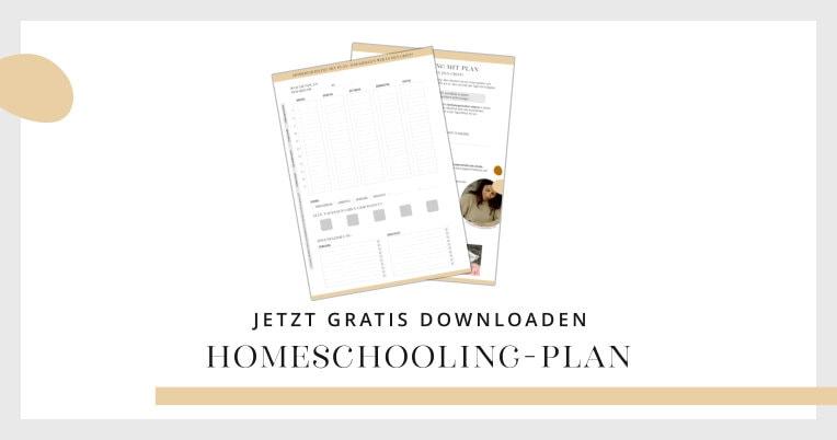 Homeschooling-Plan kostenlos herunterladen | marygoesround®