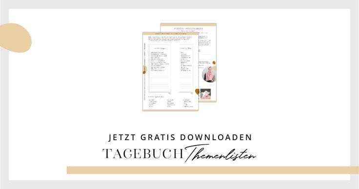 Freebie: Tagebuch-Themen | marygoesround®