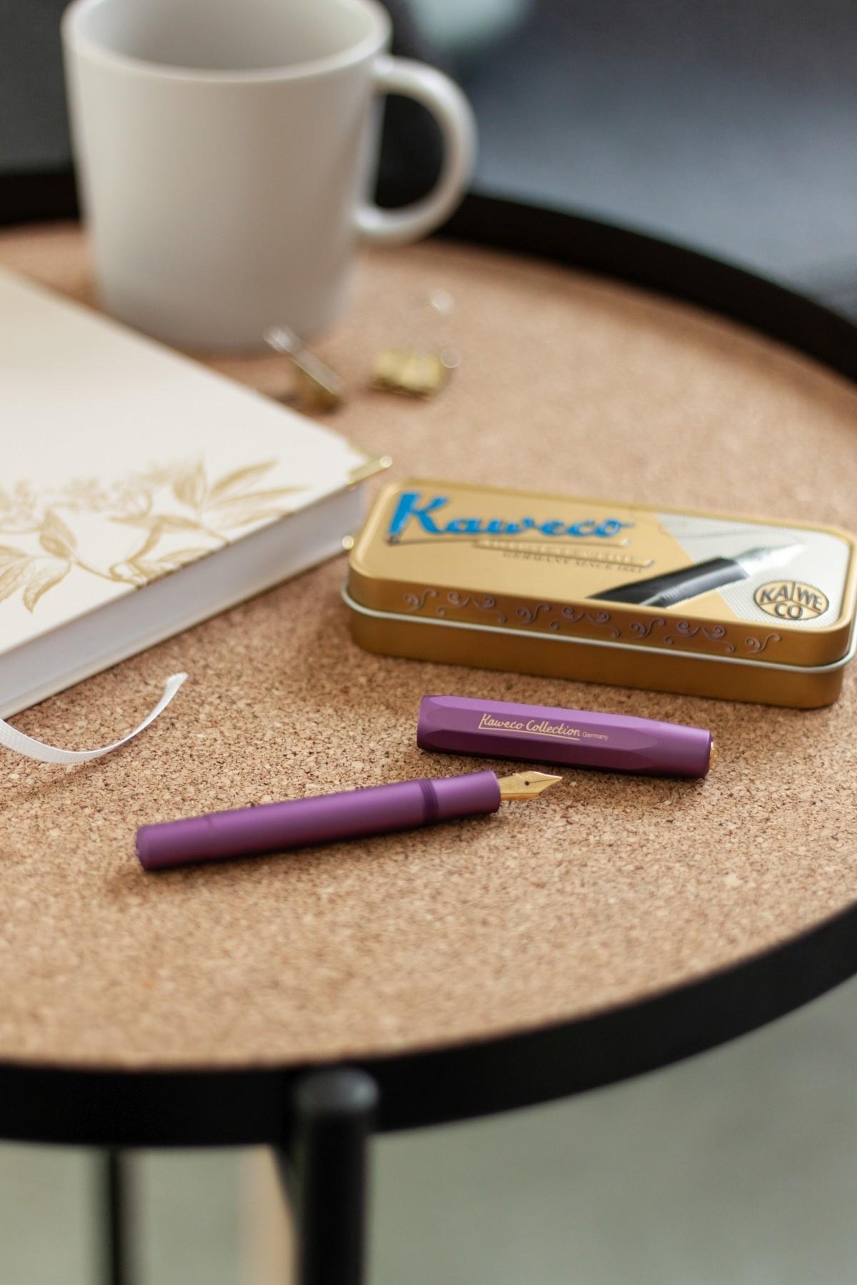 Journaling Geschenkset aus Tagebuch und hochwertigem Füller
