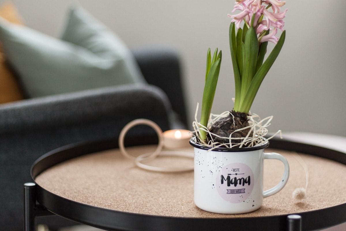 Nachhaltiges Blumengeschenk zum Muttertag
