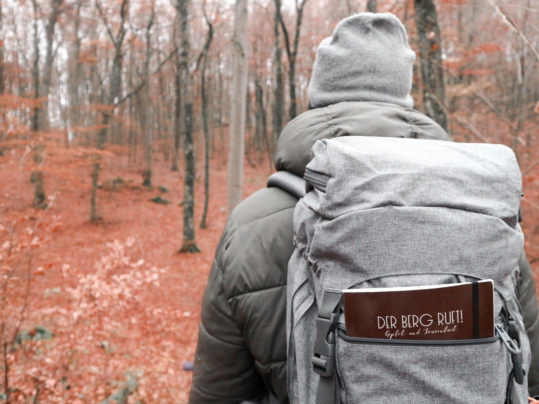 Gipfelbuch: Wandertagebuch für unterwegs
