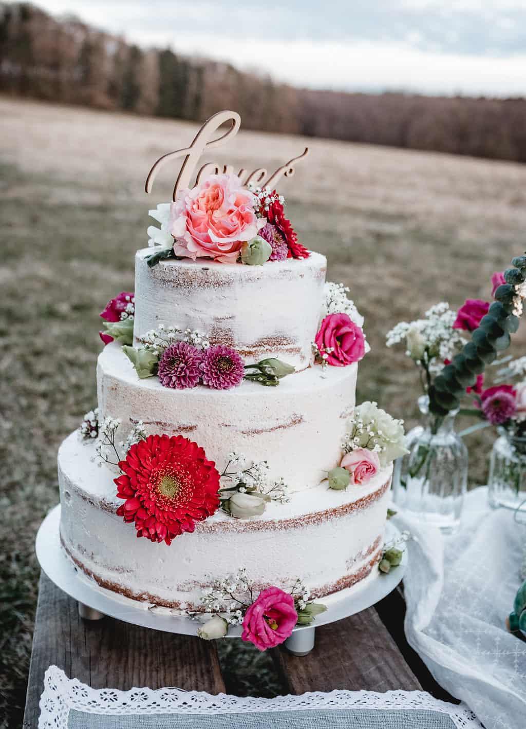 Hochzeitsinspiration Red Velvet Kraftpapier Und Ganz Viel Liebe