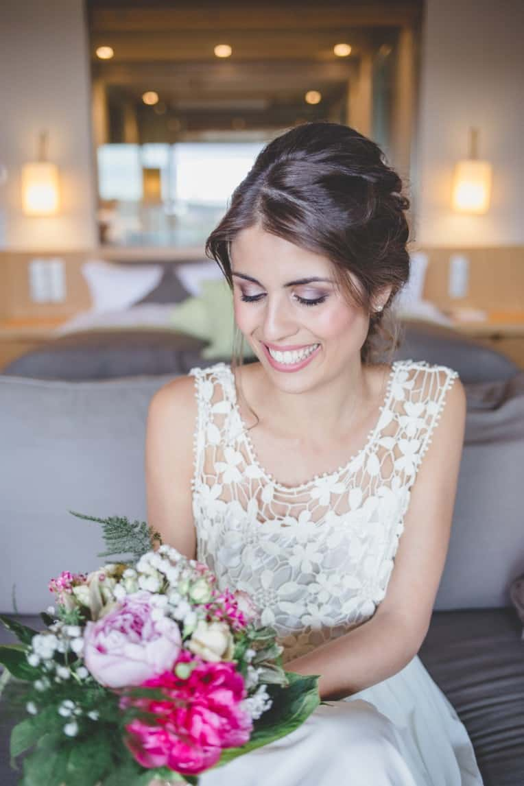 Hochzeitsinspiration: Elegant Olive (Brautstrauß) | marygoesround.de