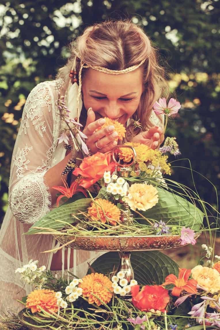 Hochzeitsinspiration: Boho Festival, Braut Lingerie | marygoesround.de