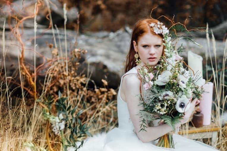 Hochzeitsinspiration: First Love - Märchenhaft heiraten, Brautkleid - Afterwedding-Shooting   marygoesround.de