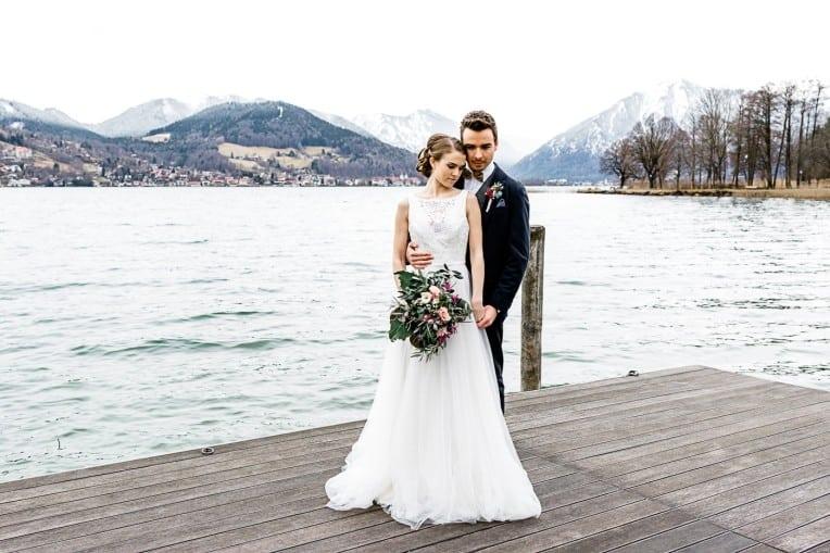 Hochzeitsinspiration: Frühlingserwachen am Tegernsee (Paarshooting) | marygoesround.de