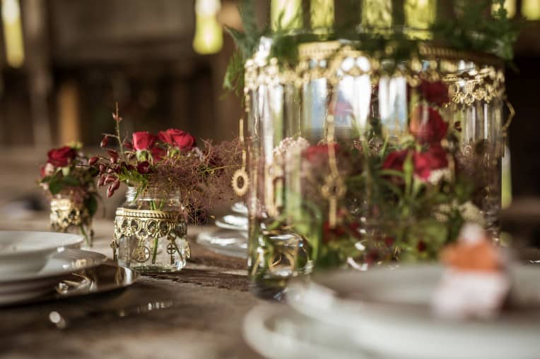 Hochzeitsinspiration: Steampunk, Tischdekoration | marygoesround.de