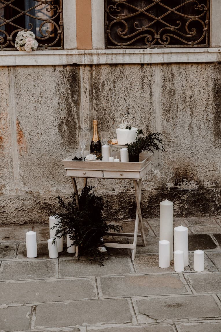 "Hochzeitsinspiration ""Amore Mio"" - Venedig, Sweets Table | marygoesround.de"