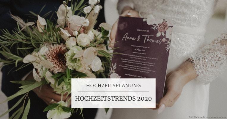 Hochzeitstrends 2020 | marygoesround®