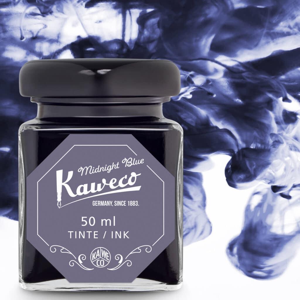Tintenglas mitternachtsblau, Kaweco