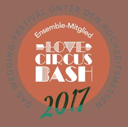 Ensemble-Mitglied im Love Circus BASH 2017