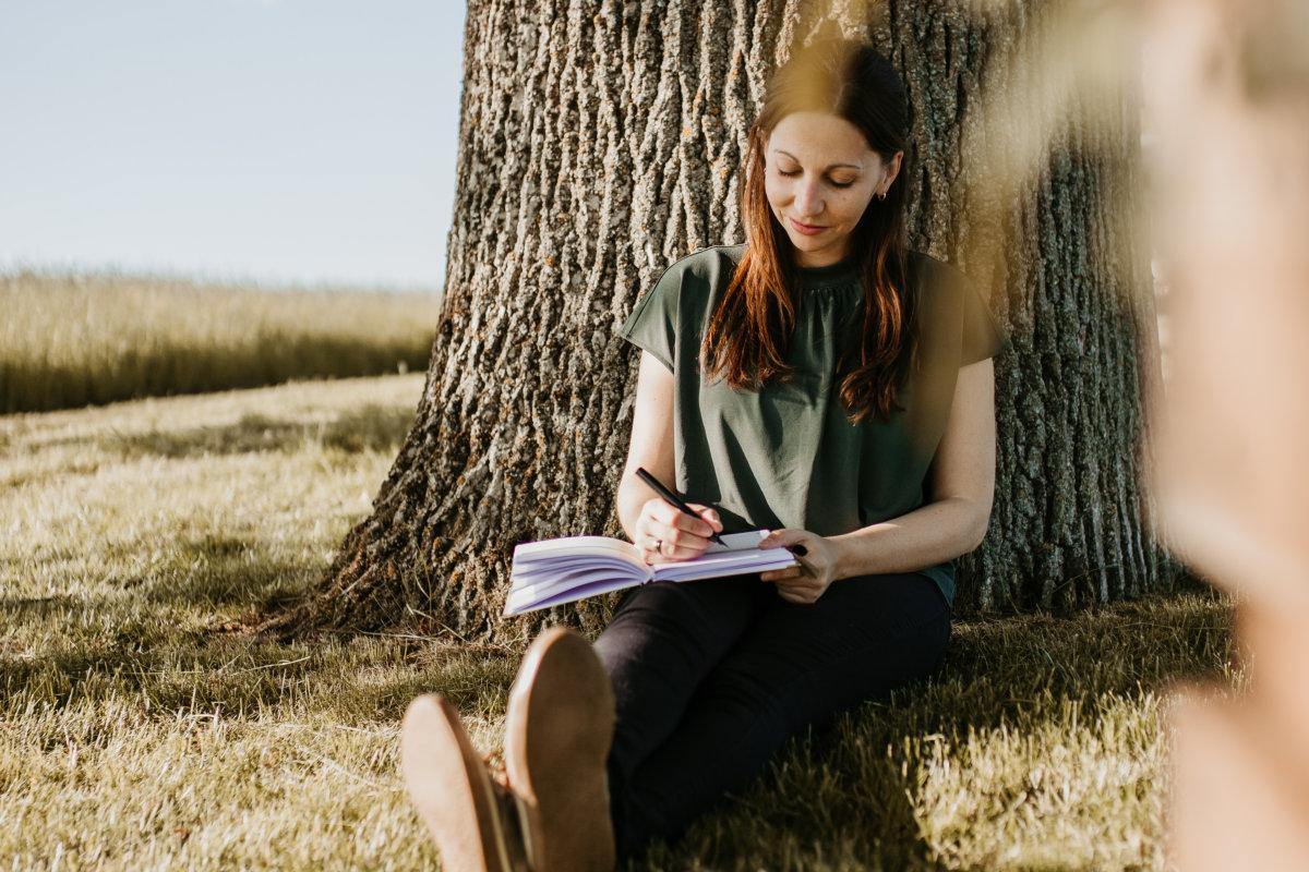 Journaling und Tagebuch schreiben mit wenig Zeit