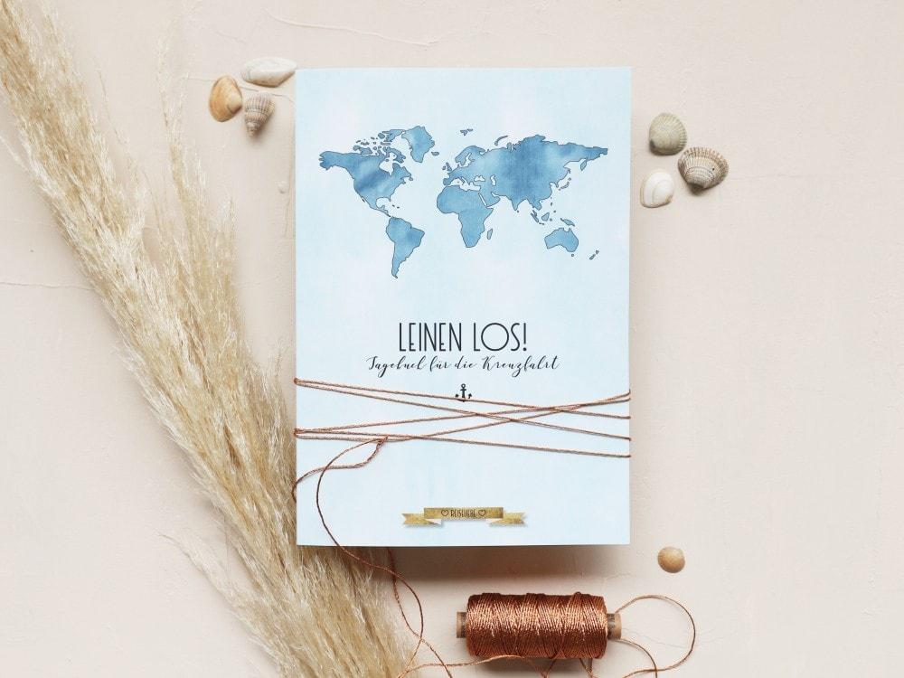 Reisetagebuch für die Kreuzfahrt | marygoesround®