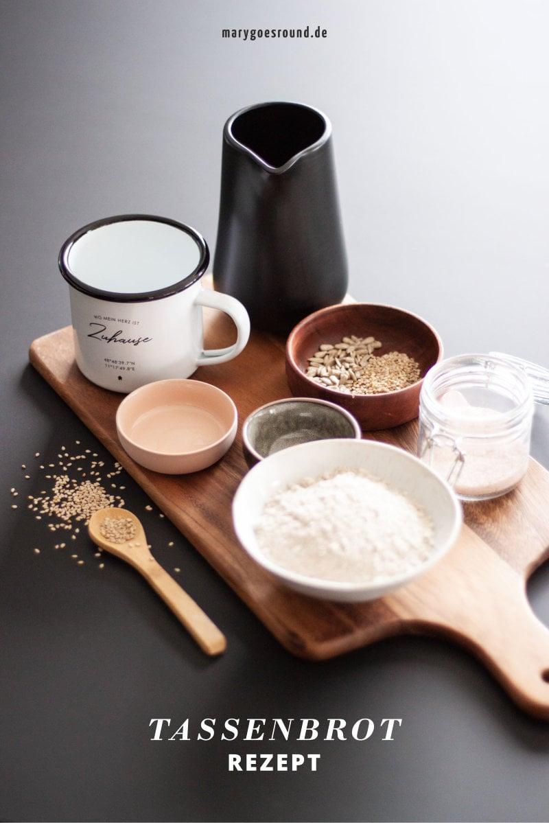 Tassenbrot-Rezept: Geschenkidee zum Einzug | marygoesround®