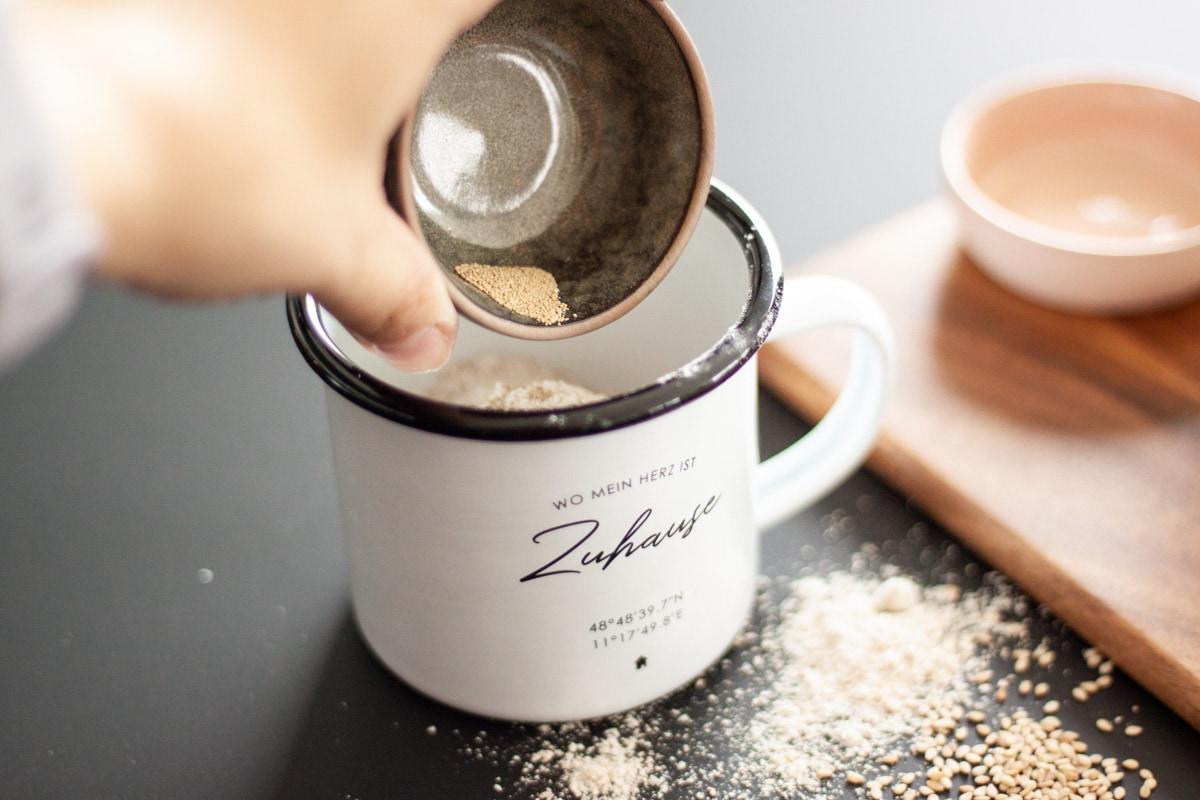 Zutaten Tassenbrot-Rezept | marygoesround®