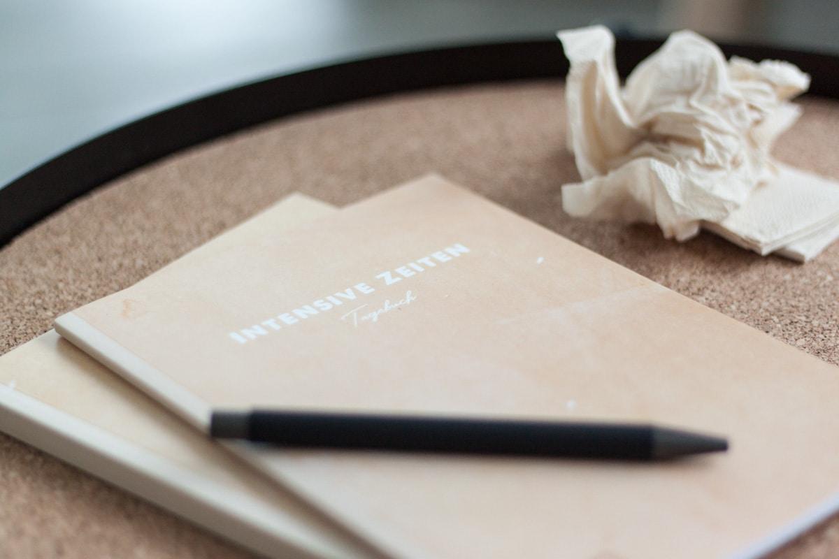 Tagebuch für INTENSIVE ZEITEN - Wie das Schreiben bei der Krisenbewältigung hilft