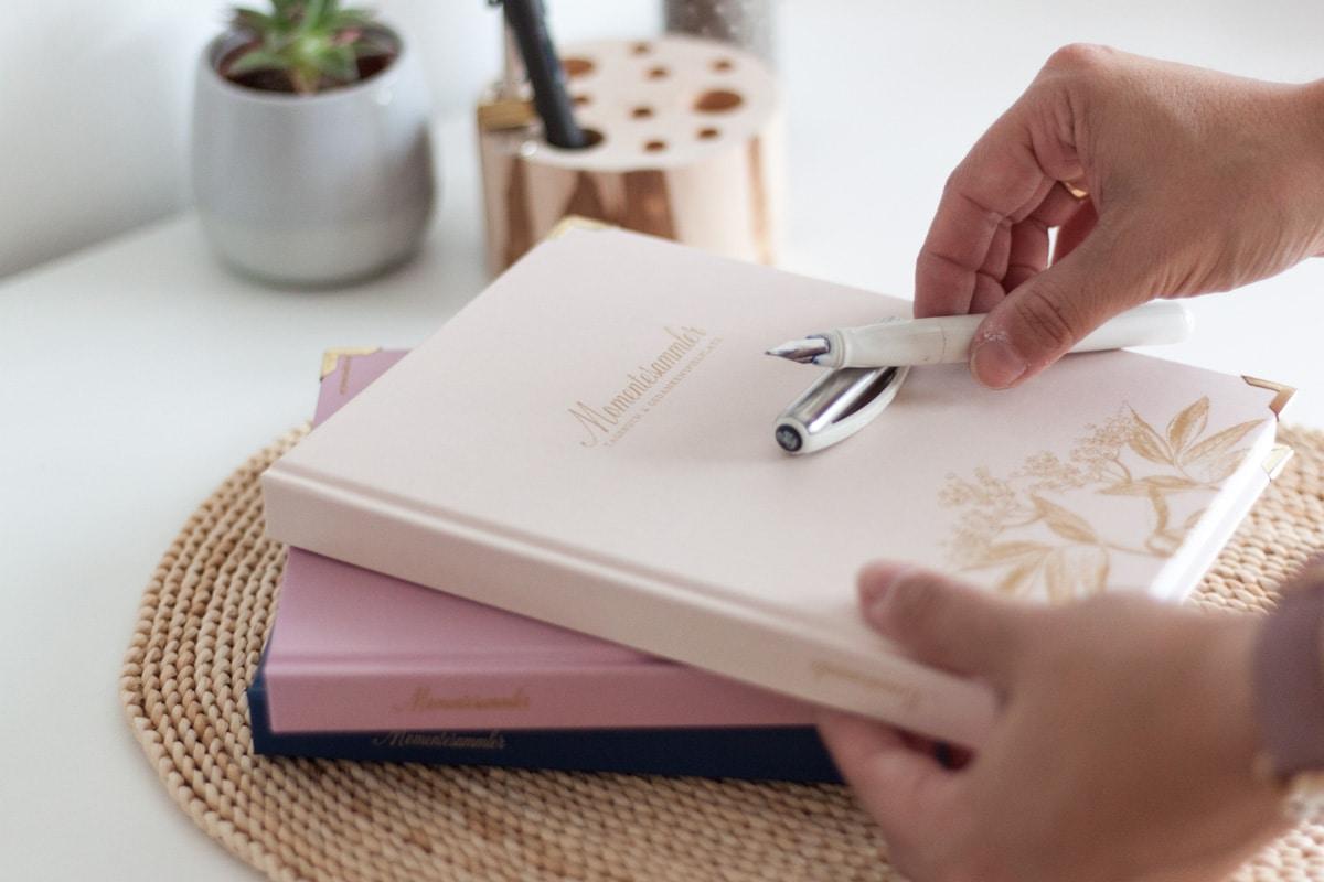 Tagebuchschreiben als Gewohnheit - der richtige Auslöser | marygoesround®