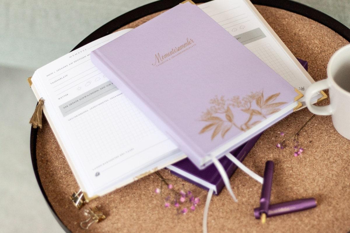 "Tagebuch ""Momentesammler"" von marygoesround®"